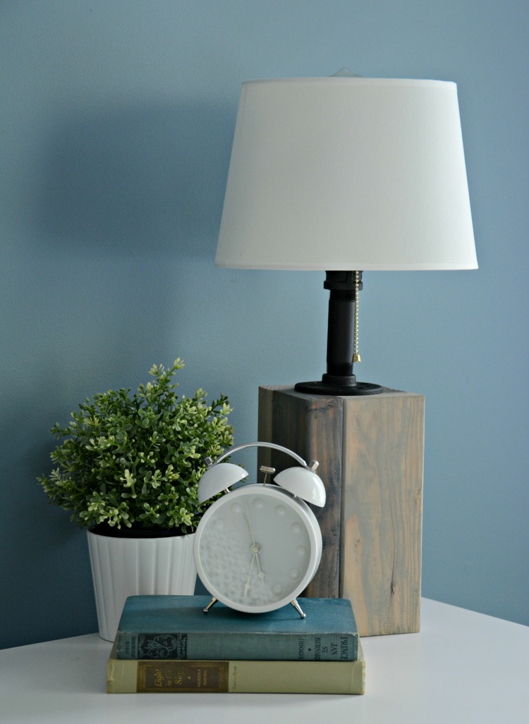 How To Make Your Own Industrial Lamp Easy DIY Tutorial