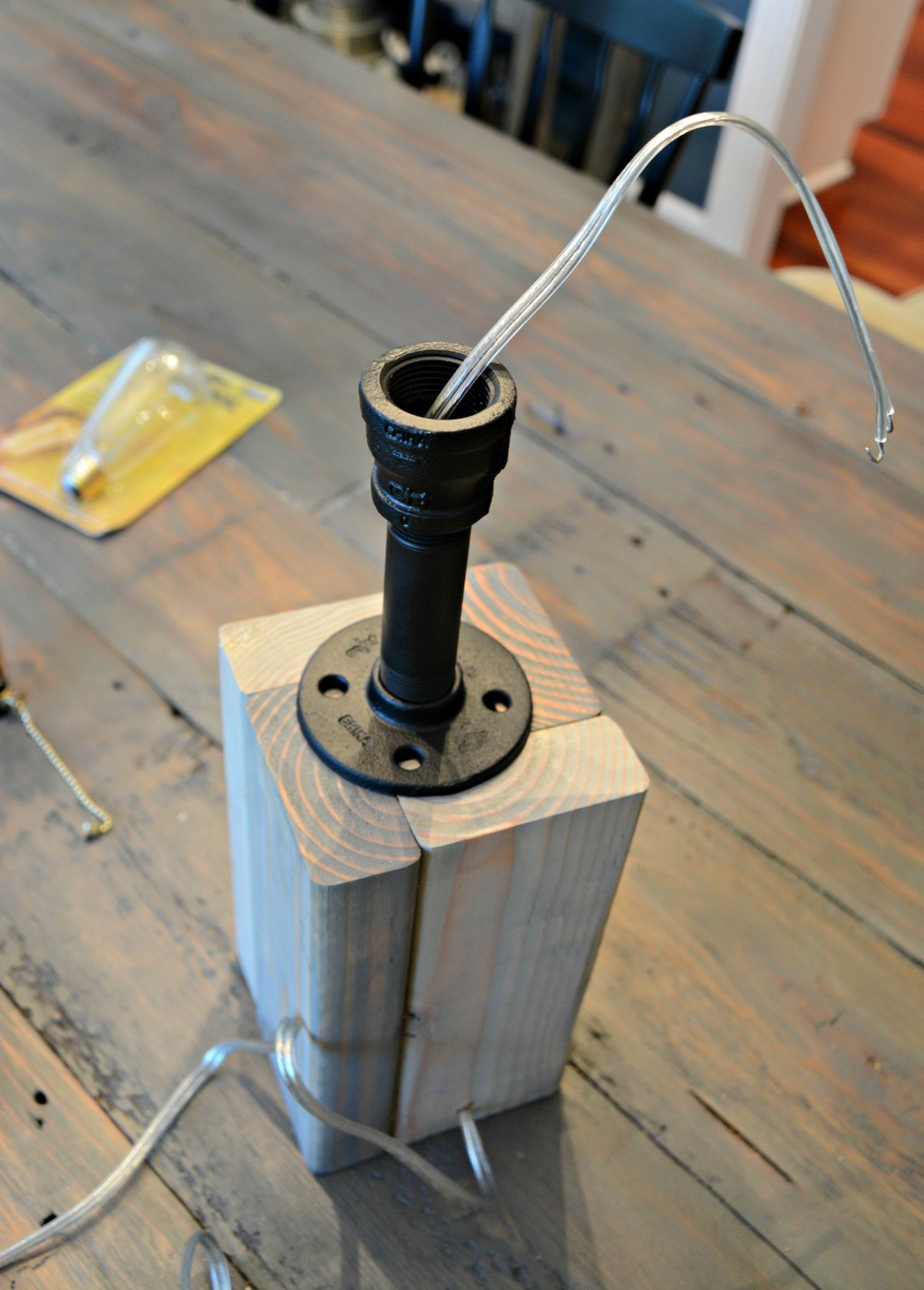How to make your own lamp decor and the dog for How to make an industrial lamp