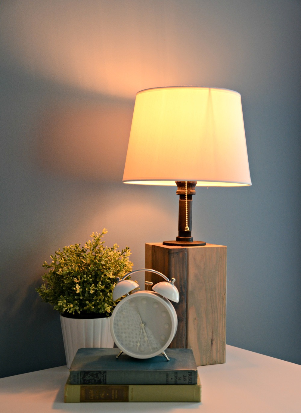 How to make your own lamp.