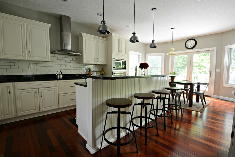 Kitchen has a pretty new paint color sherwin williams mindful gray