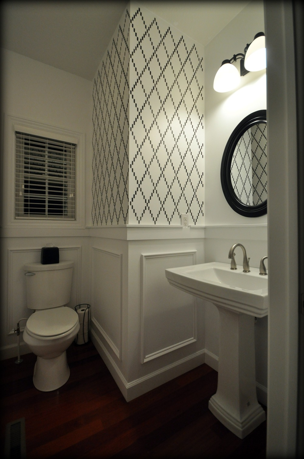 Decor and the Dog Powder Room
