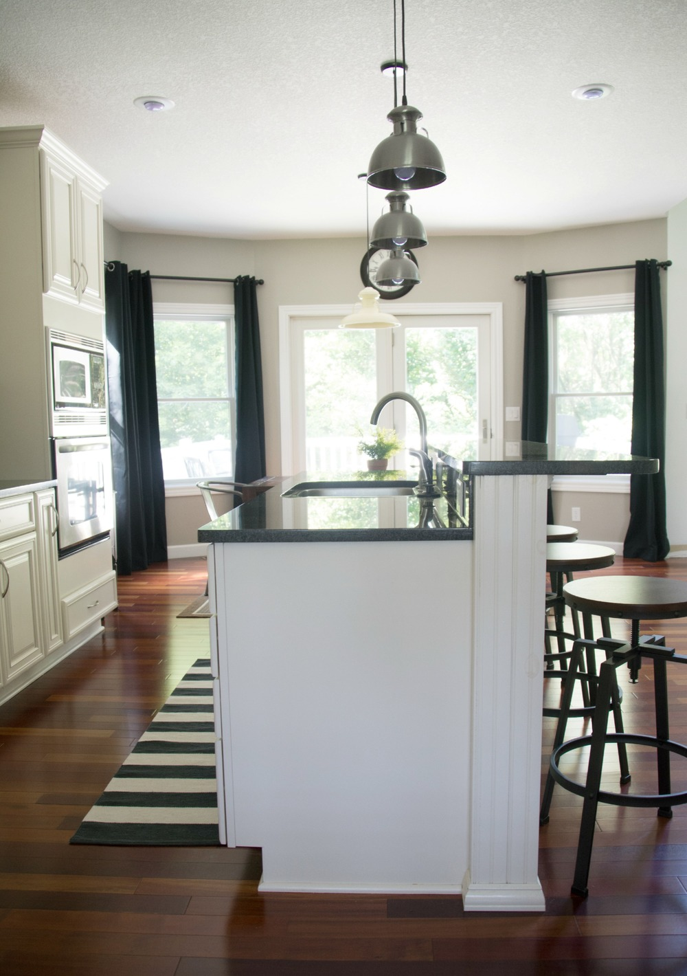 New Kitchen Curtains — Decor and the Dog