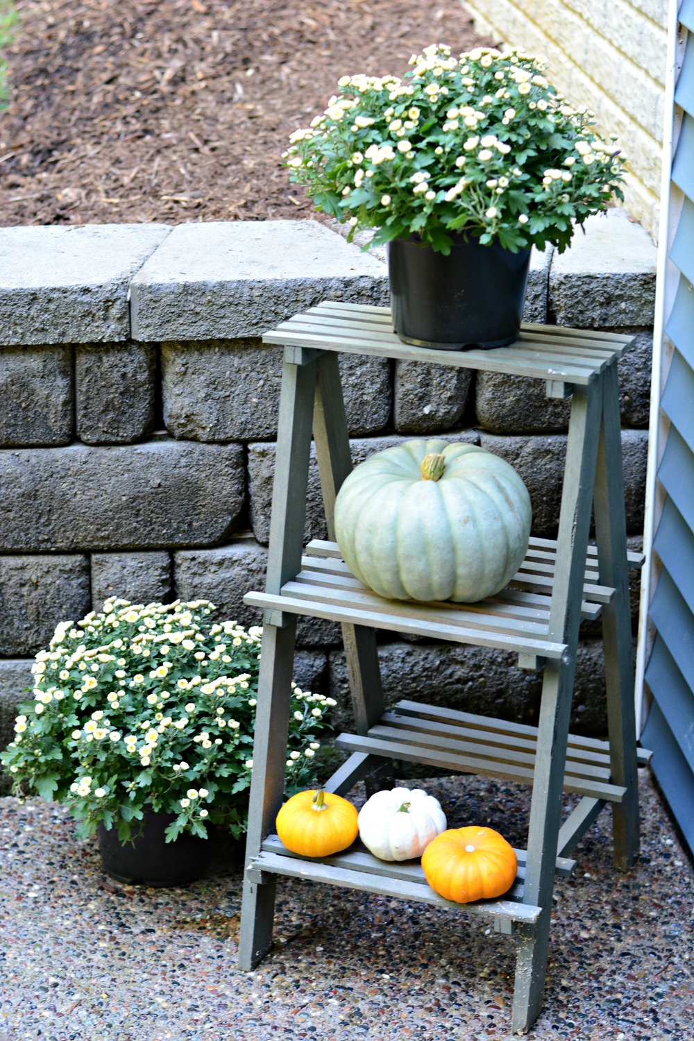 Fall Outdoor Patio Decor