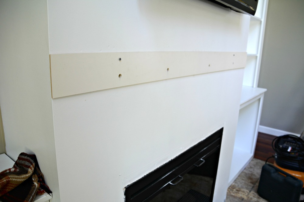 How to Install a Barn Beam Mantel