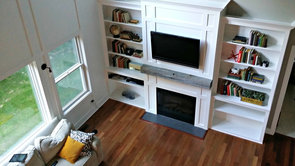 living room built ins tutorial - Cost Of Built In Bookshelves