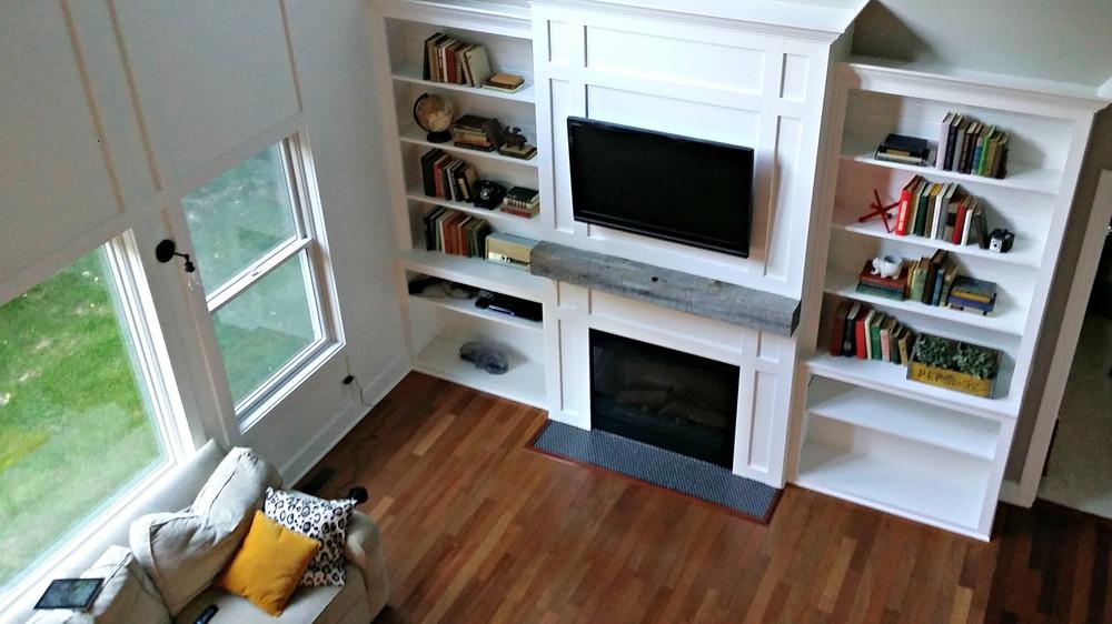 """Living Room Built-Ins """"Tutorial"""""""