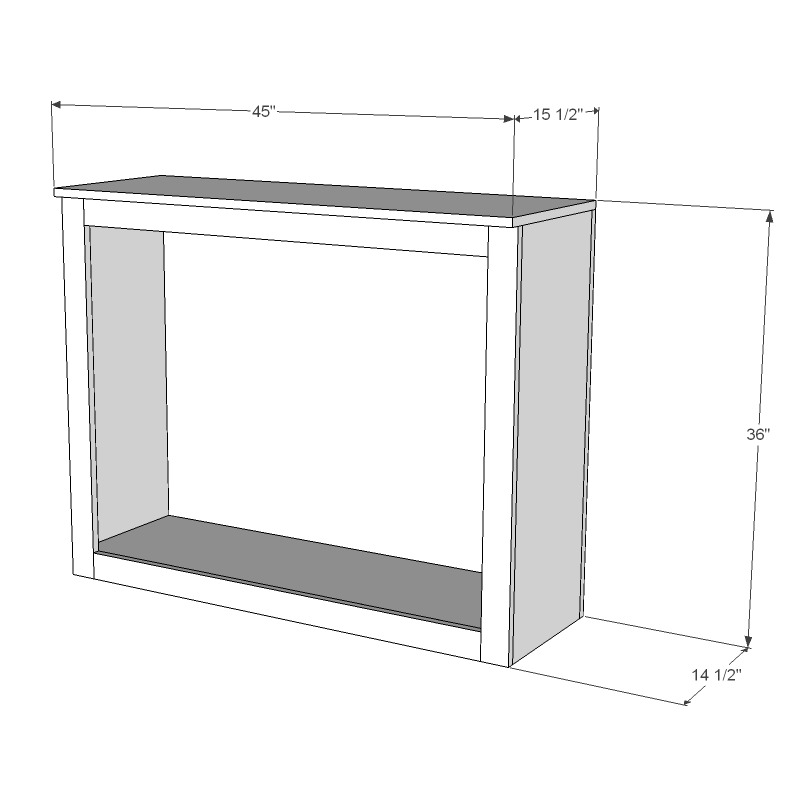 Living Room Built-In Cabinets Tutorial