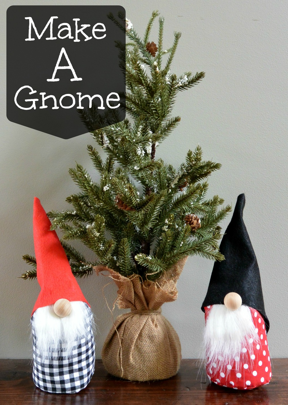 How to make a gnome decor and the dog for How to christmas crafts