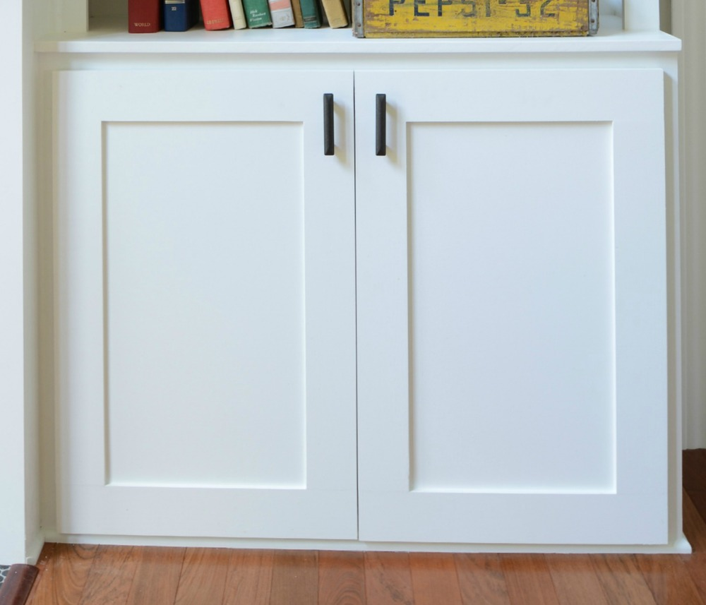 How to build a cabinet door decor and the dog for Diy glass cabinet doors