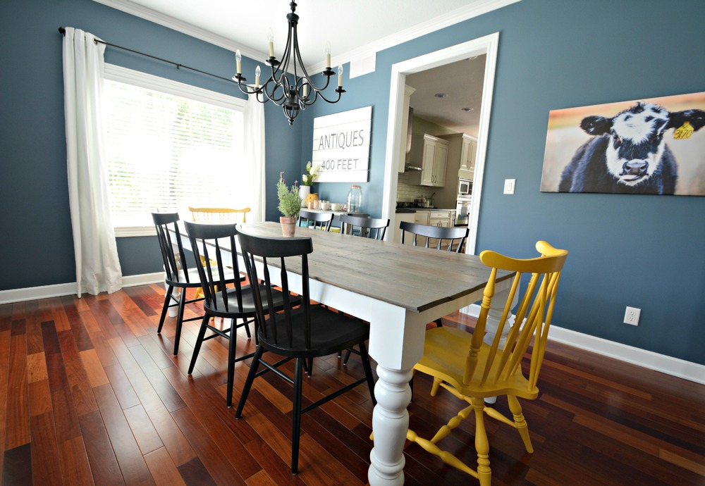 Blue Dining Room Colors dining room | favorite paint colors blog