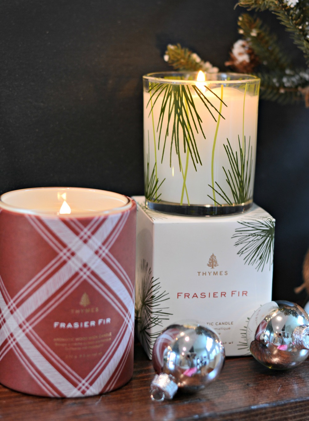 Frasier Fir Wood Wick Candle   &   Frasier Fir Pine Candle