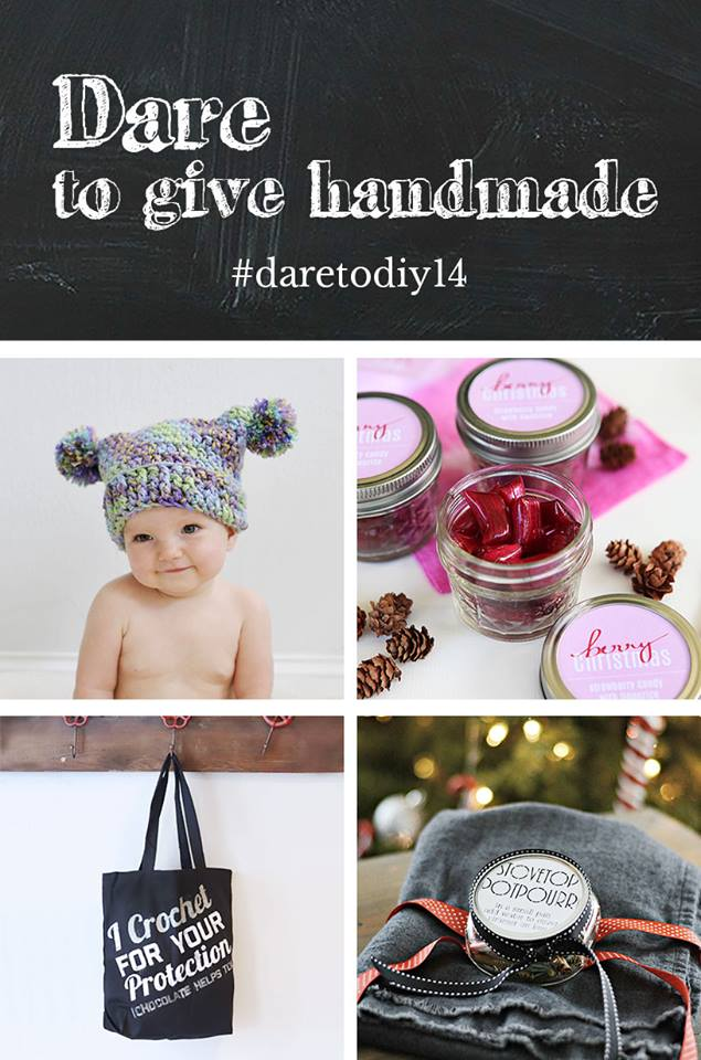 Pom Pom Hat {Maybe Matilda} ,  Handmade Berry Candy {Shift Ctrl Art} ,  Crochet Tote {NewlyWoodwards}
