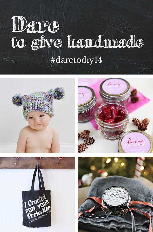 Pom Pom Hat {Maybe Matilda} ,  Handmade Berry Candy {Shift Ctrl Art} ,  Crochet Tote {NewlyWoodwards}