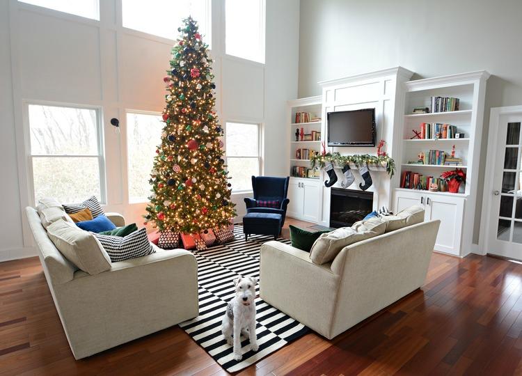 2014 Holiday Home Tour - Living Room — Decor and the Dog