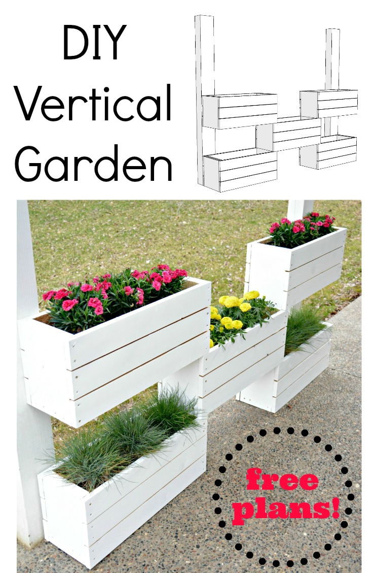 How to Build a Vertical Planter {The Home Depot DIY ...
