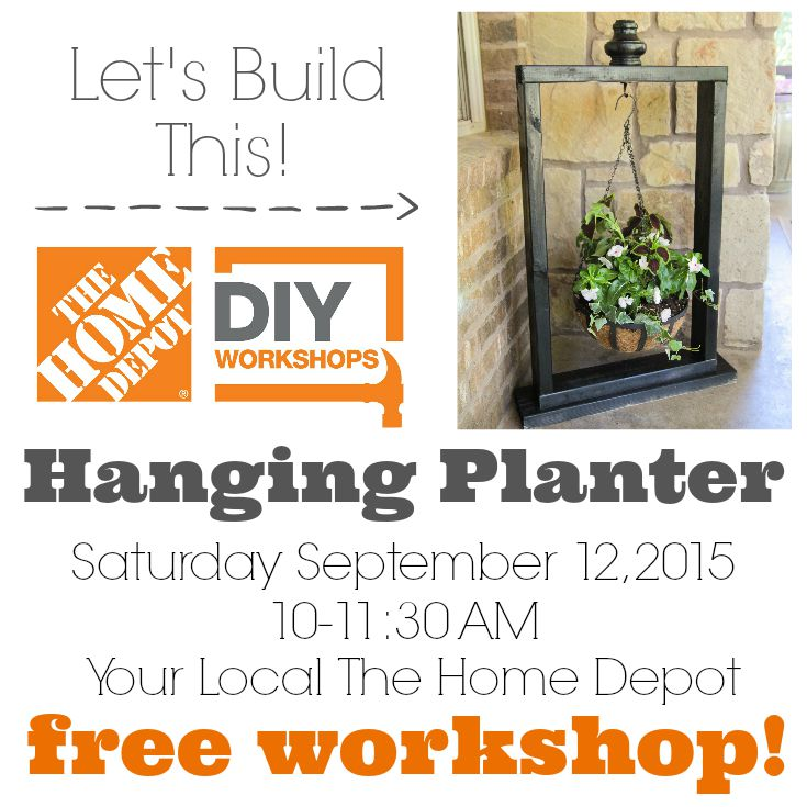 The Home Depot Fall DIY Workshop- Save the Date — Decor and the Dog