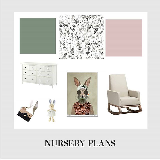 I struggled to remember my blog password but there's finally a new post up on the neglected blog! Nursery plans for baby sister!