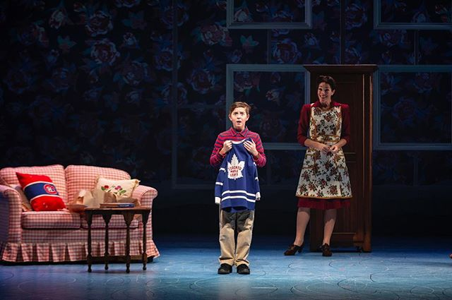 A few frames from recent Segal productions: 1) Wyatt Moss and Claire Lautier in The Hockey Sweater: A Musical on now at the @nac.cna 2) Full Company, Hockey Sweater 3) Kids Company, Hockey Sweater 4) Hockey Sweater director Donna Feore with author Roch Carrier and Wyatt Moss 5) Sarah Constible on Pierre-Étienne Locas' impressive set of A Doll's House, Part 2 6) Sarah Constible, Oliver Becker 7) Sarah Constible, Ellie Moon, Oliver Becker, Victoria Barkof (directed by Caitlin Murphy)