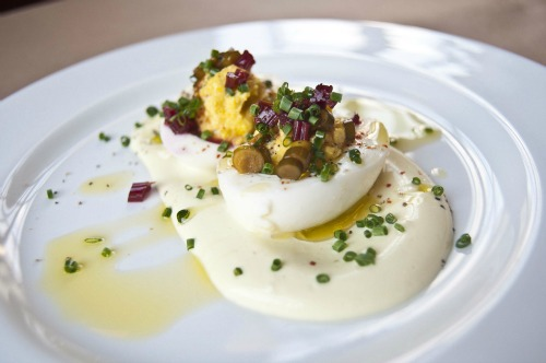 Deviled Eggs at Reynard