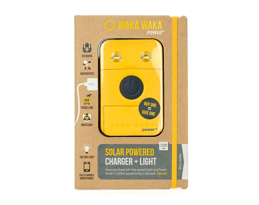 Wakawaka Power+ Solar Powered Charger