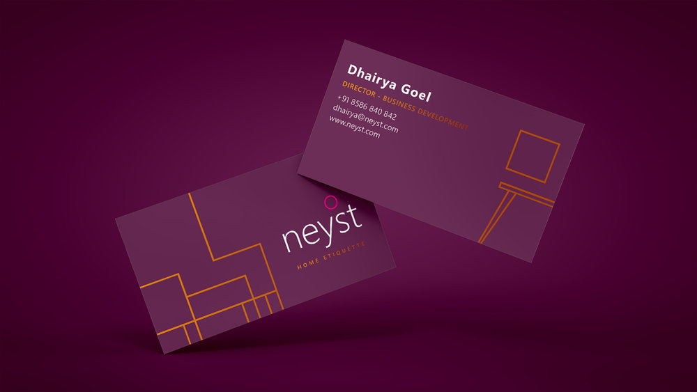 Neyst - Interior Design Firm Branding