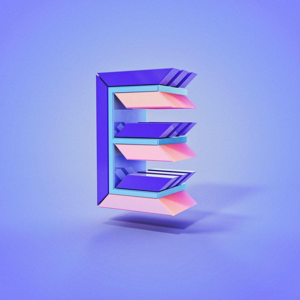 Day 05: Letter E