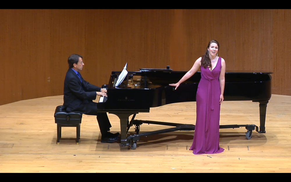 Graduate Recital at the San Francisco Conservatory of Music, 2014