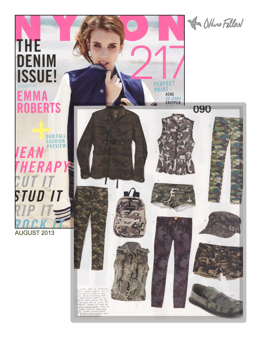Others Follow's Mia top featured in Nylon