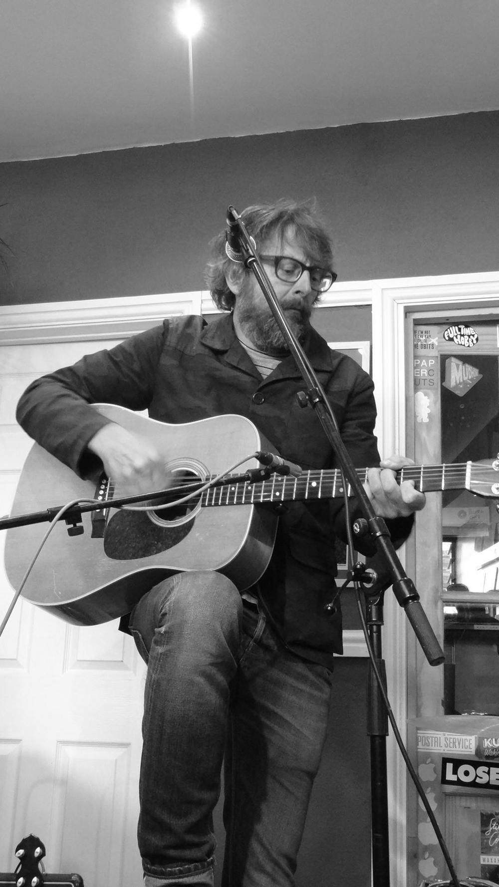 Andy Watts live at 'Drift Record Shop' April 19th 2014 - Record Store Day