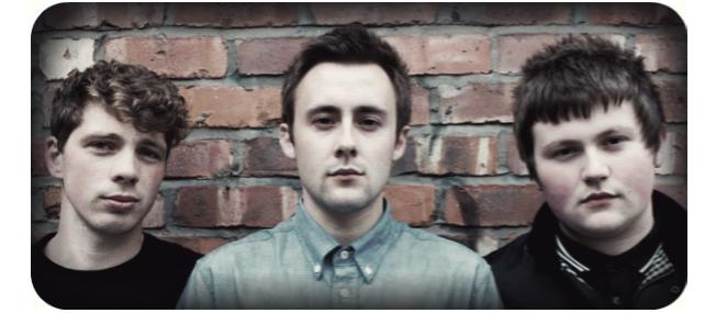 L-R: Daniel Buckle, Ben Earnshaw, Daniel Earnshaw