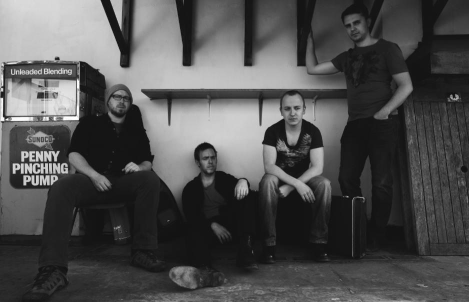 L-R: Chris Keelan – Bass, Neil O'Keeffe – Vocals/Guitar, Paul Keane - Lead Guitar/Vocals, Benjamin Balan - Drums