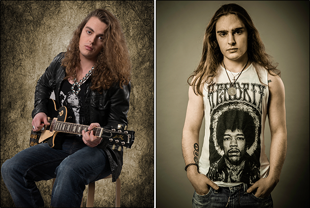 Virgil McMahon (guitar, vocals) and Gabriel McMahon (drums). Photo Credit: © Will Ireland