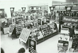 Woolworths Record counter