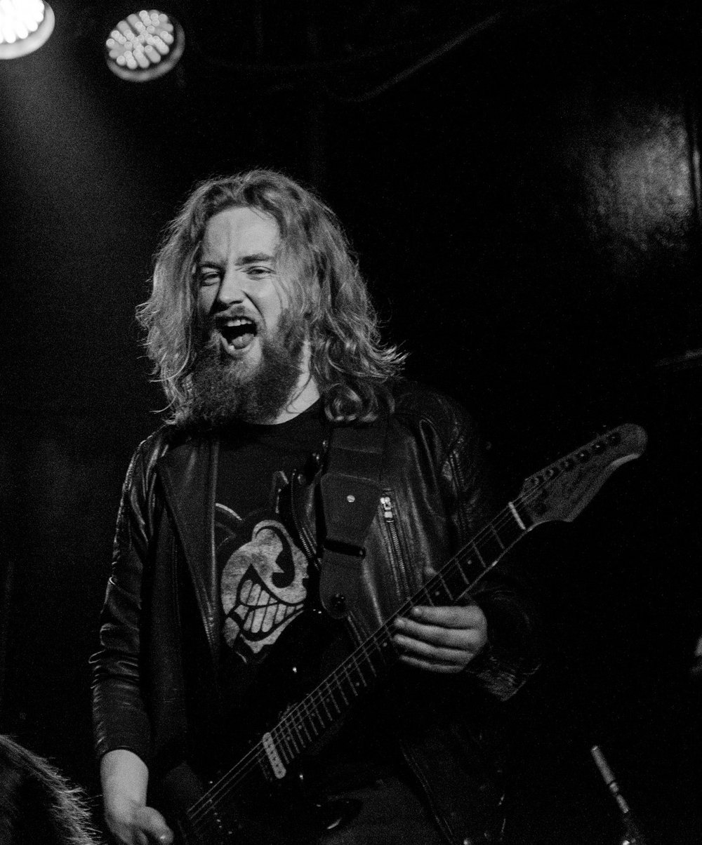 Justin Lee Collins on stage with a heavy rock band yesterday....