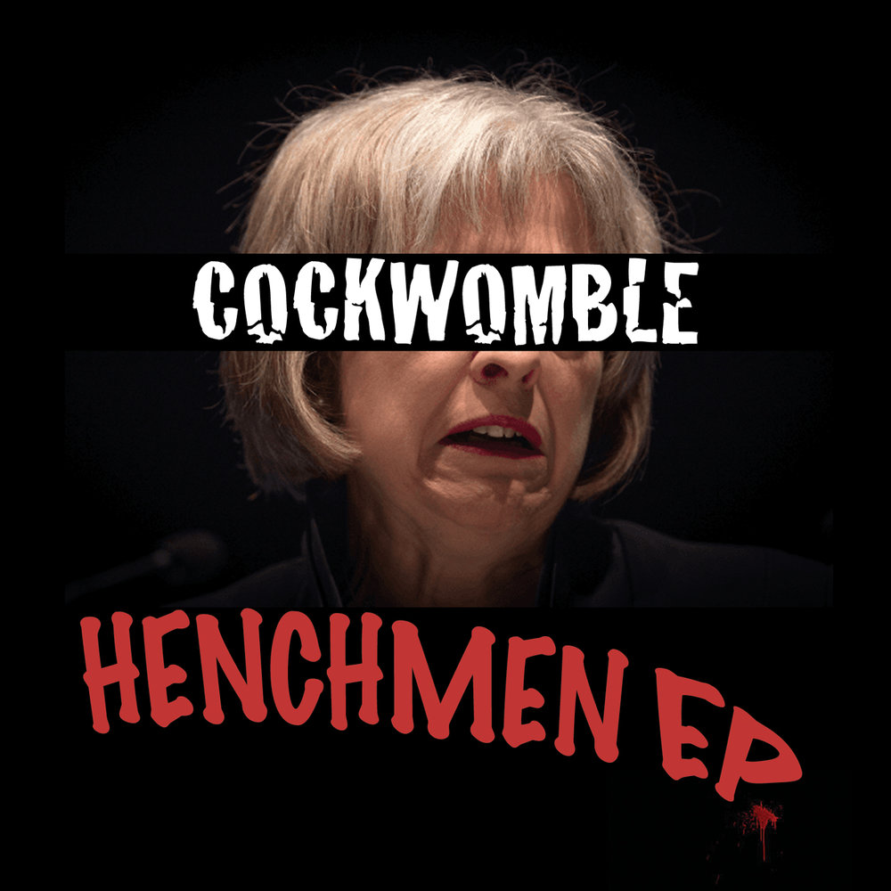 Cockwomble Henchmen EP artwork.jpg