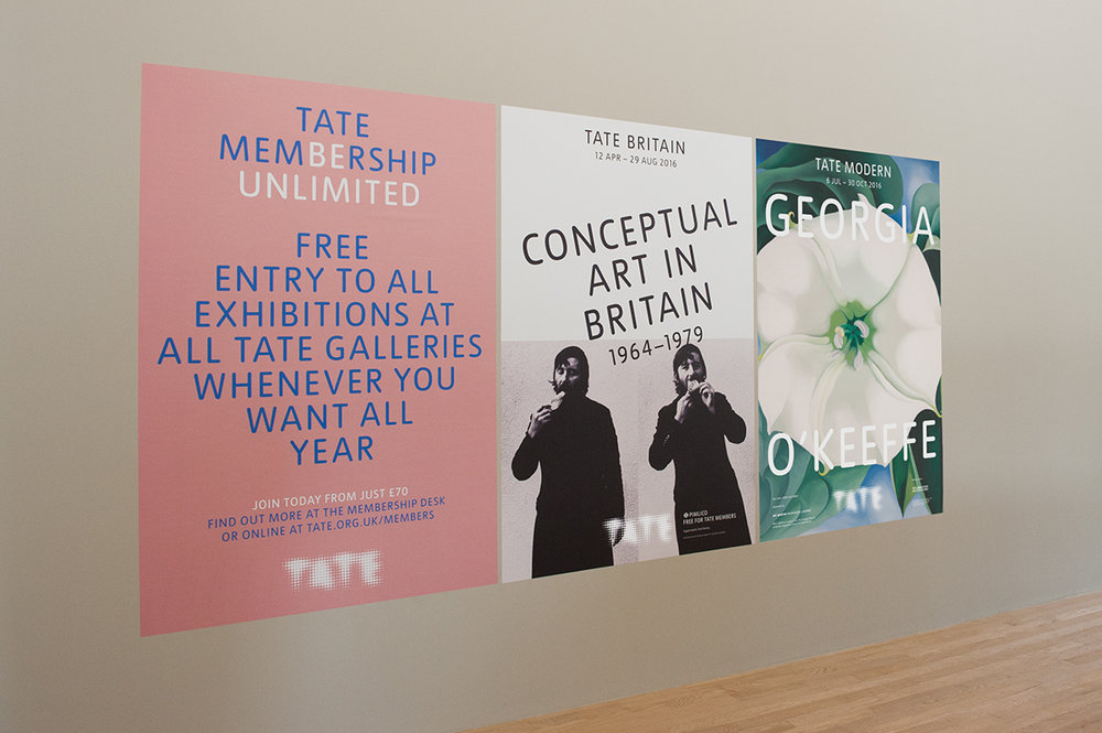 Tate Gallery brand language