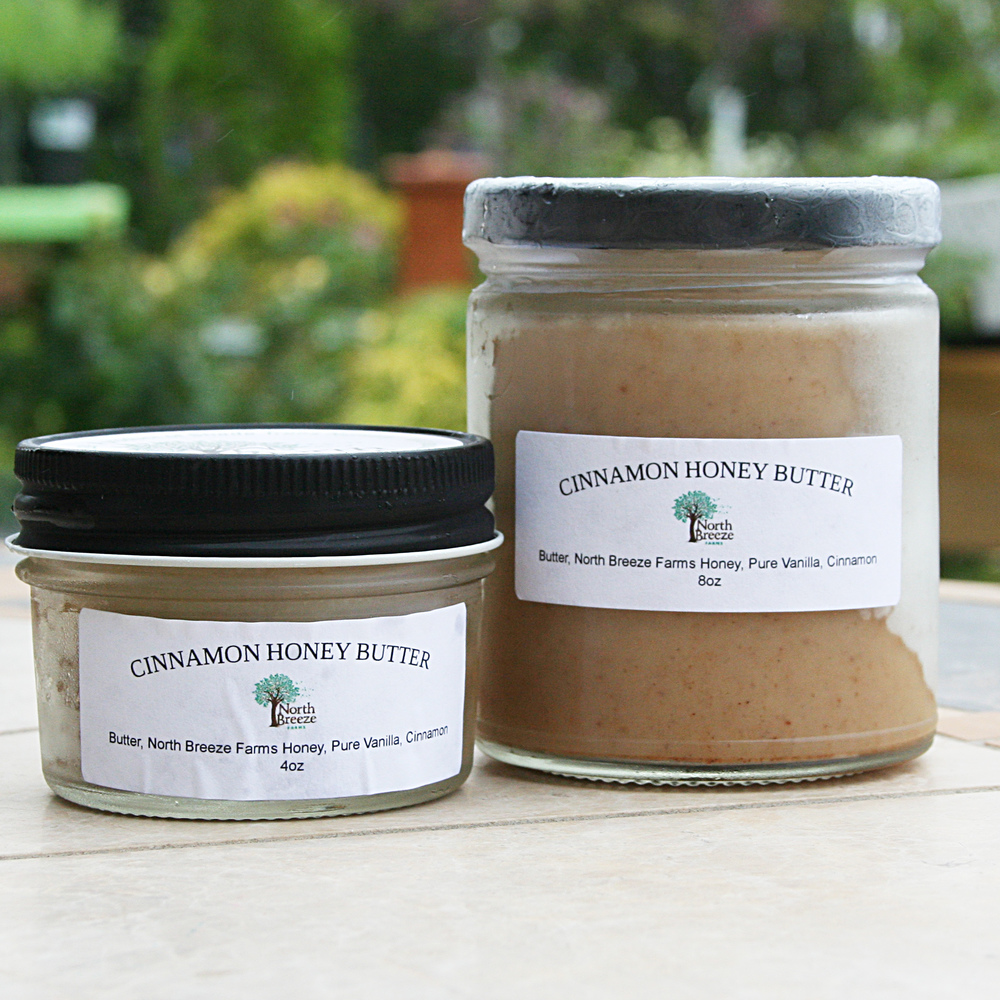 Cinnamon Honey Butter 4 oz $6.50 8 oz $12.50