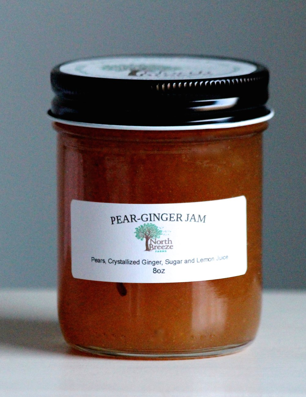 Pear-Ginger Jam $12