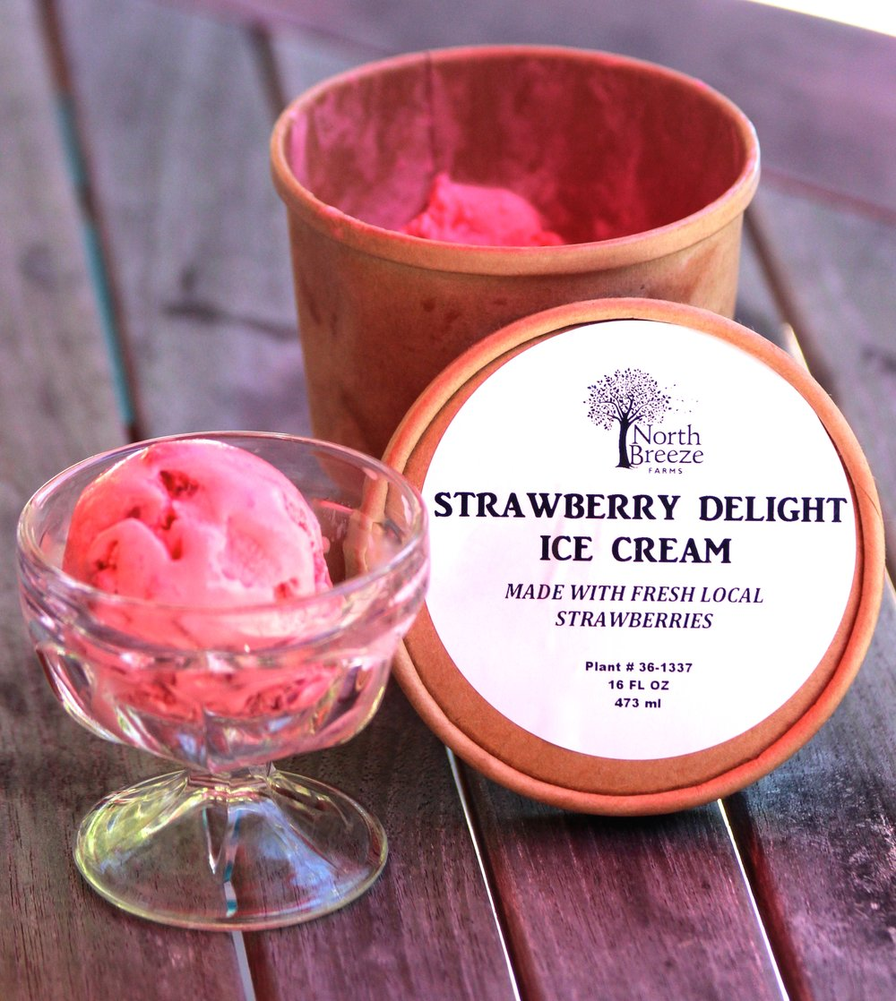Strawberry Ice Cream $5.99