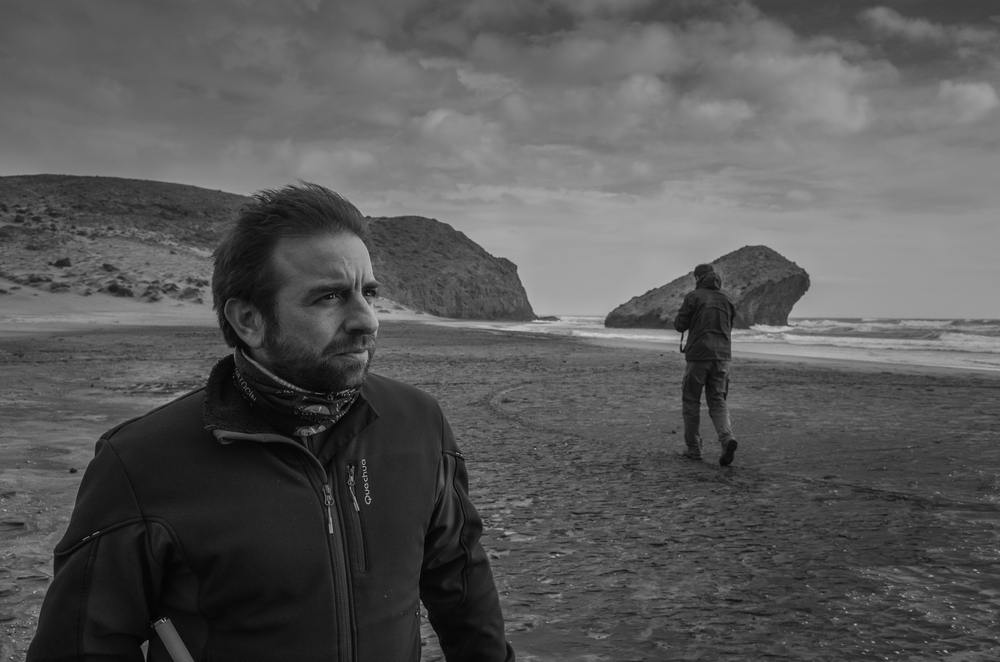 """La Playa del Monsul. Territorio cinematográfico. Escenario de """"Indiana Jones y la última cruzada"""" y un paseo de Sean Connery con un paraguas."""