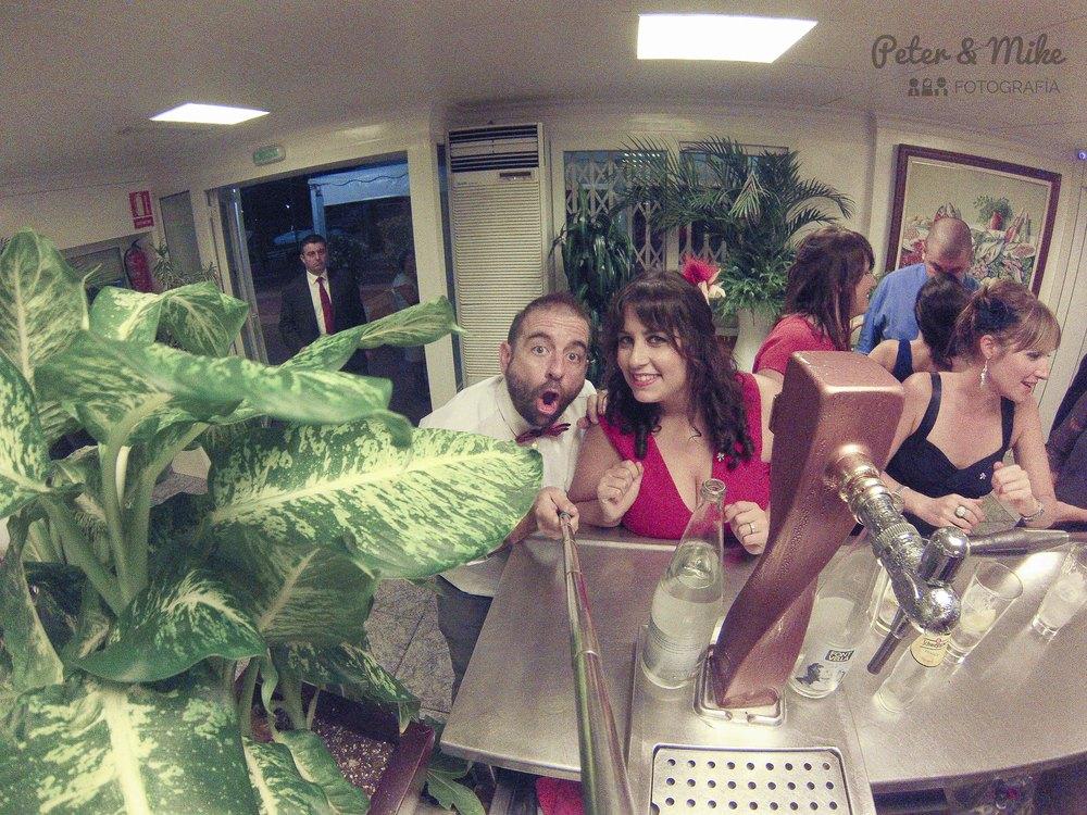 Selfie con un grifo de Estrella de Levante.