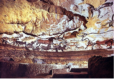 Before humans had words, we had the innate desire and ability to communicate through imagery. 36,000 years ago our Stone Age ancestors demonstrated intellectual sensitivity and sophistication to interpret and attach meaning to their surroundings on the limestone cave walls of Lascaux and Chauvet-Pont-d'Arc, France.