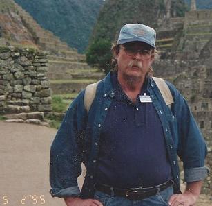 Del at Machu Picchu