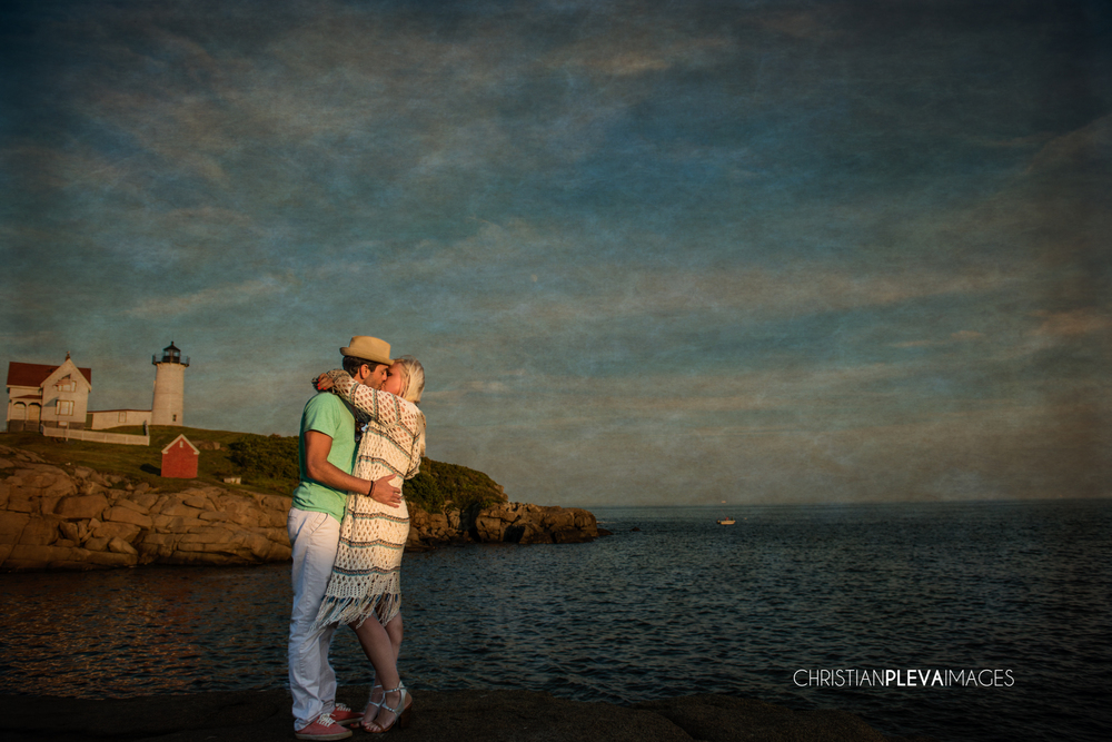 James & Danielle Nubble Lighthouse Proposal