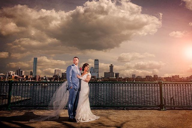 Incredible #wedding this weekend with Jaclyn and Adam. A little peak at this couple looking amazing.  #bostonwedding #weddingphotography #boston #weddingdress #bostonweddingphotography #memorialdrive #bride #groom #weddingphotographer #mit #charlesriver #bostonphotographer