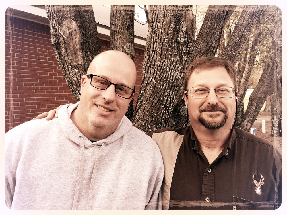 Men's Ministry Chairman Kevin Nelson and Co-chairman Walt Moses