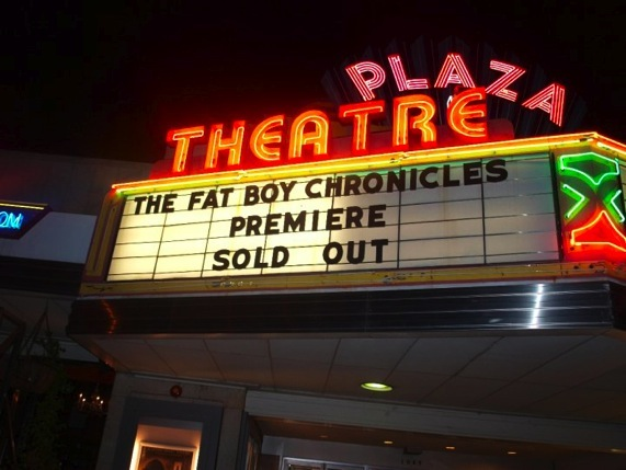 The Fat Boy Chronicles  Atlanta premiere at the Plaza Theatre.