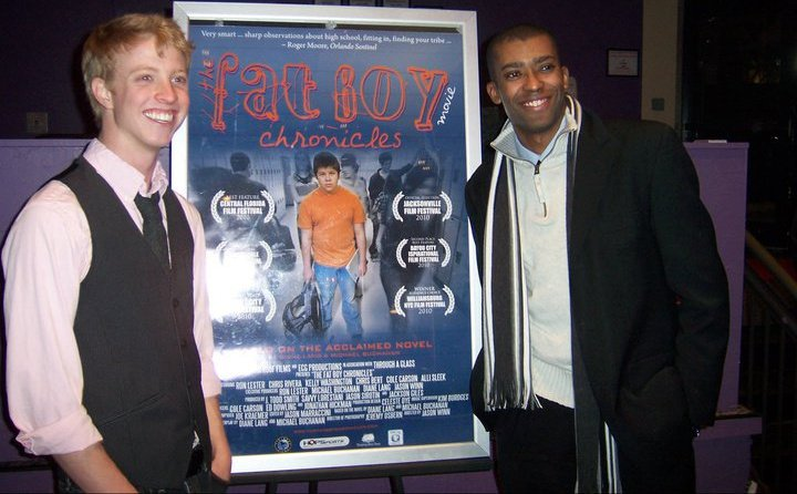 With actor/producer J. Todd Smith at a  Fat Boy Chronicles  event.