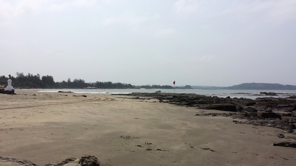 Ashwem Beach in Goa
