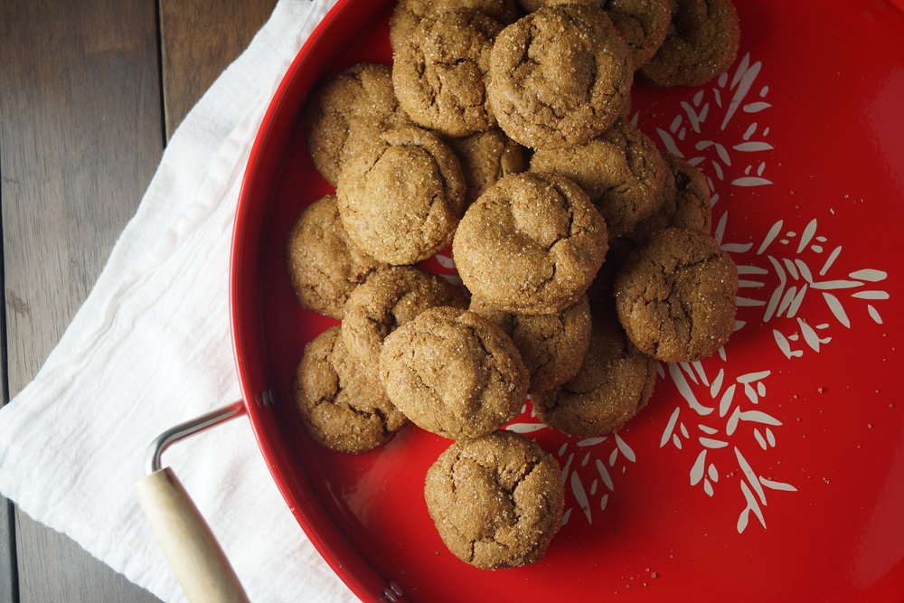 Sweet Sorghum Spice Cookies